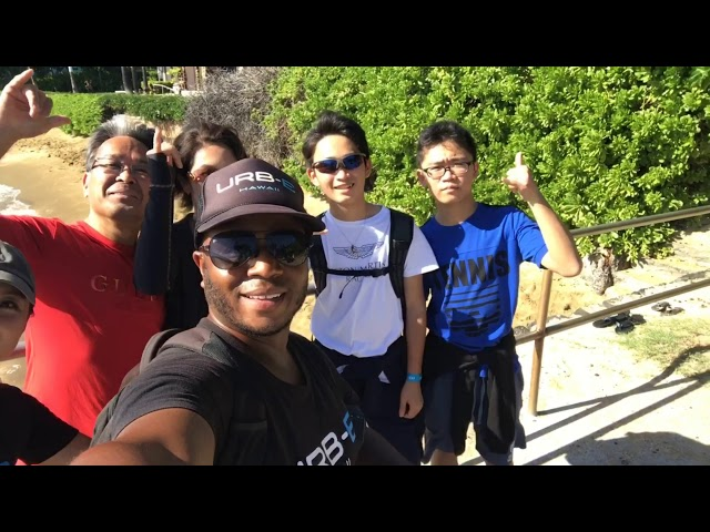 URB-E Hawaii Diamond Head Ride & Hike 1/2/2019