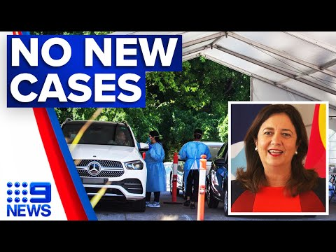 Coronavirus: No new virus cases in Queensland | 9 News Australia thumbnail