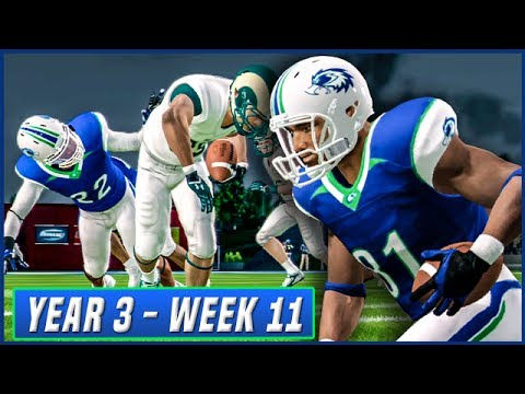 NCAA Football 14 Dynasty Year 3 - Week 11 vs Colorado St. | Ep.46