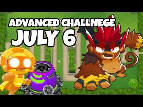 BTD6 Advanced Challenge - Turon&39;s Challenge - July 6 2019
