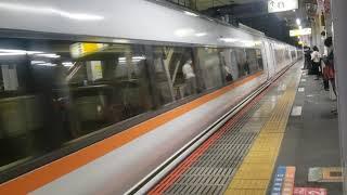 JR鴻巣駅を通過する回送列車