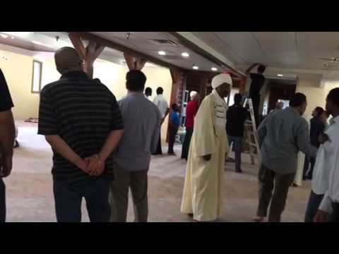 The opening of the Islamic center of north Kansas City
