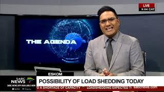 Eskom | Possibility of load shedding today
