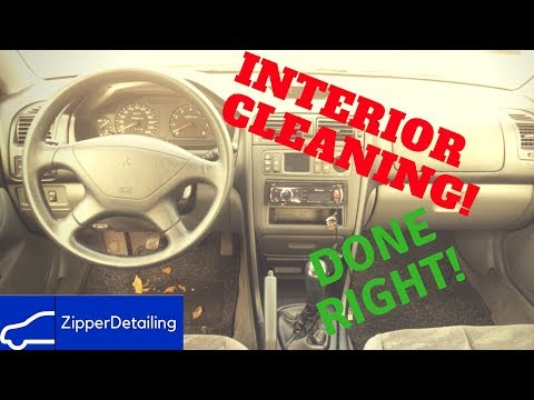 How to clean your Interior very easy? | The right way | Professional -Zipper-Detailing