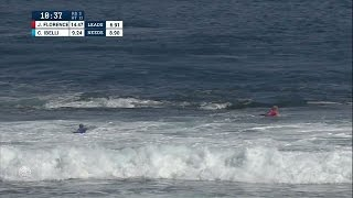 JJF Stumps Ross Williams with Flat Air at Margaret River