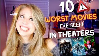 The top ten worst movies I paid to see in the theater! I'd love to ...