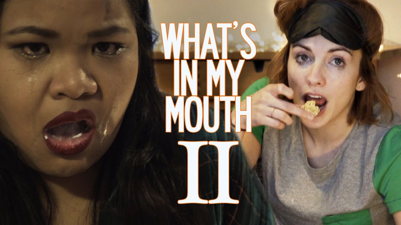 WHAT'S IN MY MOUTH ROUND 2?! - with Just Eat Life