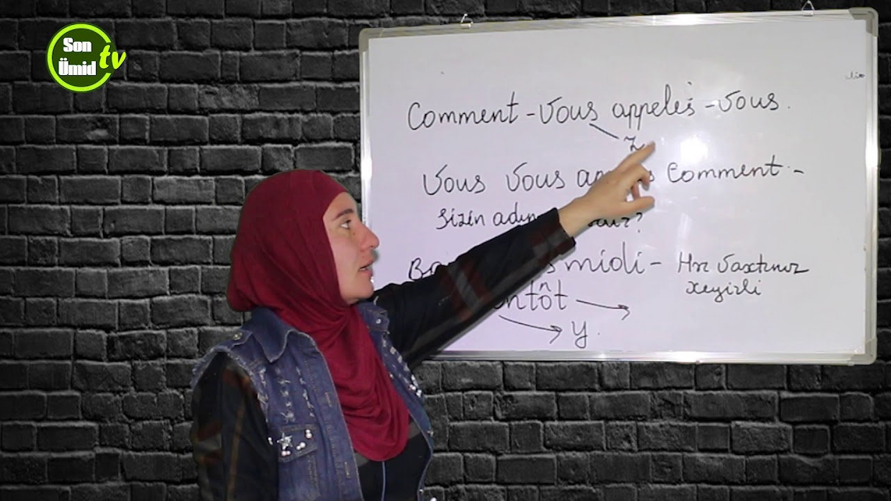 Sıfırdan fransızca. Ders #4. / Fransız dili