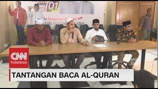 Tantangan Baca Al-Quran Capres