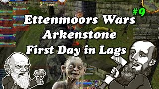Lotro: PVmP,(First Day in Lags), Arkenstone, Ettenmoors, Эттены замесы, 07.03.2017