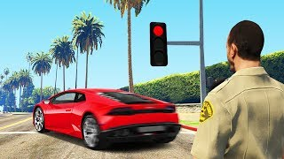 COP CAUGHT ME IN THE ACT! (GTA RP)