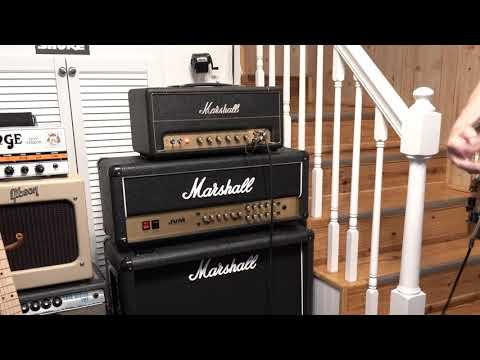 Marshall Studio Vintage Amplifier SV20H With Marshall 1936 On Crunch Parts