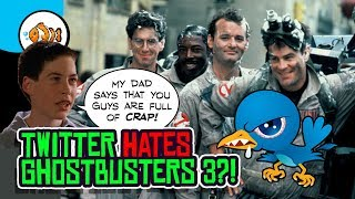 Ghostbusters 3 CANCELS Ghostbusters 2016! Twitter is SALTY!
