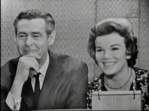 What's My Line? - Robert Ryan & Nanette Fabray; Harry Belafonte [panel] (Oct 21, 1962)