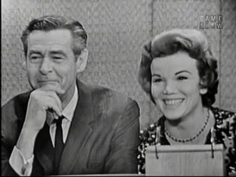What's My Line?  Robert Ryan & Nanette Fabray; Harry Belafonte panel Oct 21, 1962