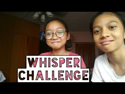 CAN'T HEAR YOU!(Whisper Challenge) Ft.Dini
