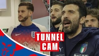 Inside Access as England are Denied Win Over Italy | Tunnel Cam
