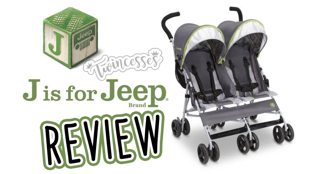 5661135ddb8 J is for Jeep Brand Scout Double Umbrella Stroller Review 2018 - YouTube