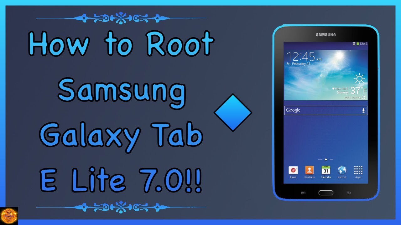 How to Root Samsung Galaxy Tab E Lite 7 0 SM-T113!!
