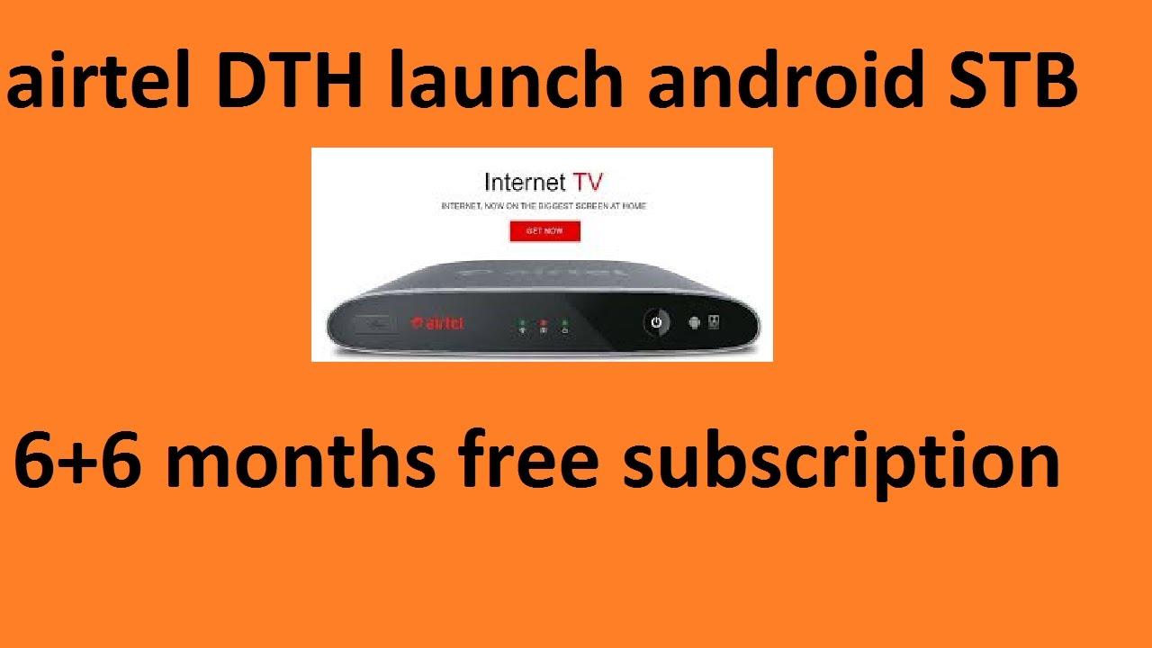 Airtel DTH launches Android set top box,Airtel Internet TV Reveiw
