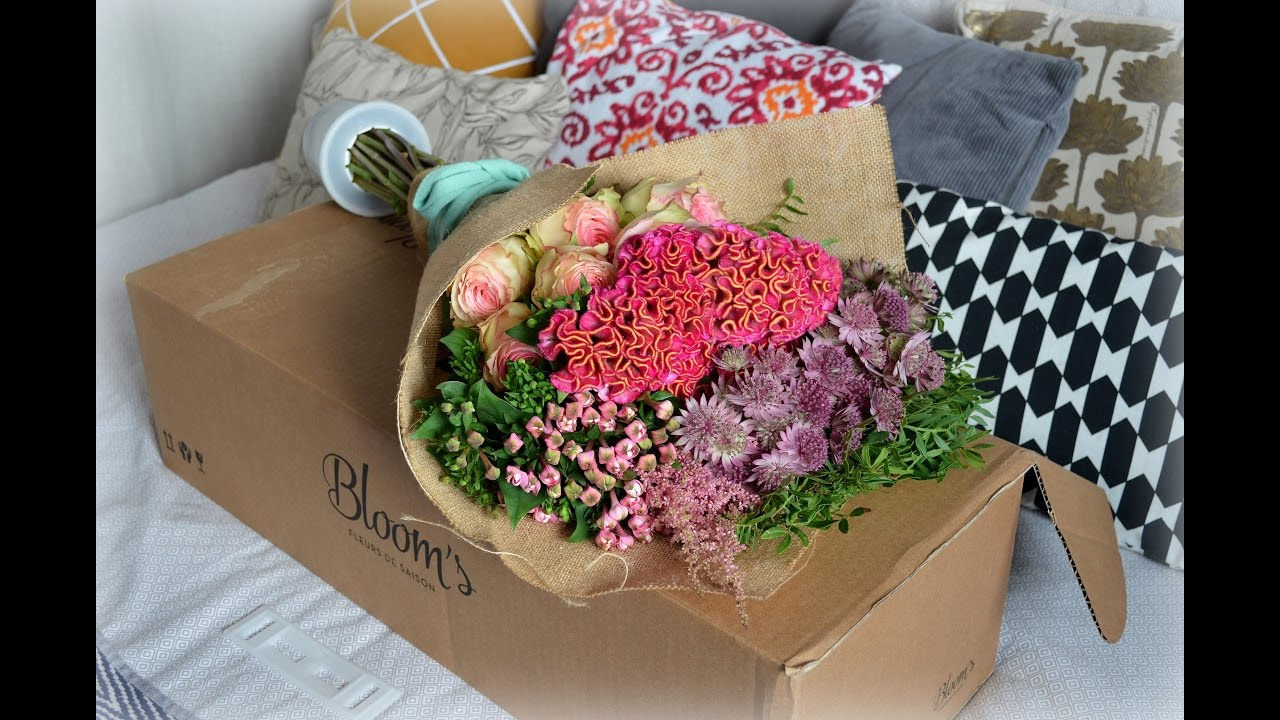 bloom's box 1ere box de fleurs! - youtube