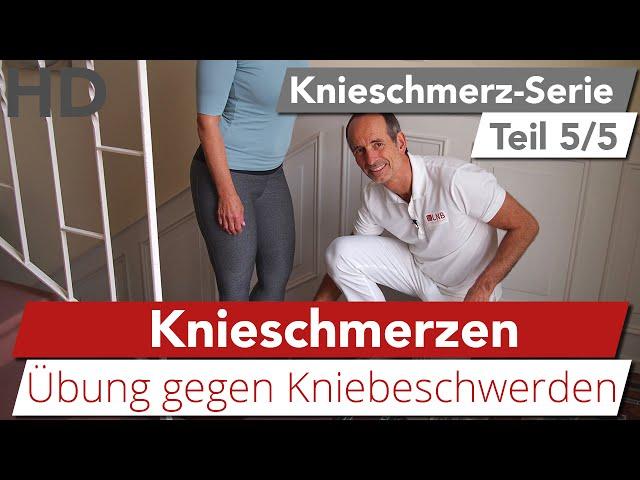 Knieschmerzen Übung // Kniebeschwerden, Oberschenkelschmerzen