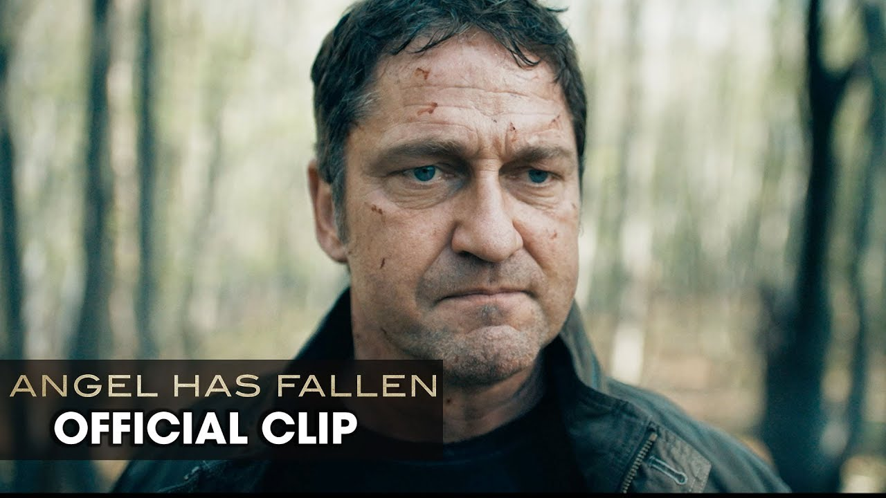 "Angel Has Fallen (2019 Movie) Official Clip ""Father/Son Reunion"" — Gerard Butler, Nick Nolte"