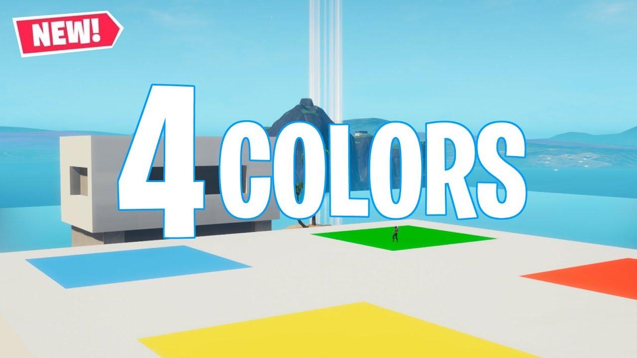4 Colors Fortnite Creative Fortnite Tracker
