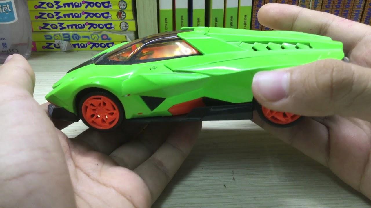 Mo Hinh Lamborghini Egoista Youtube
