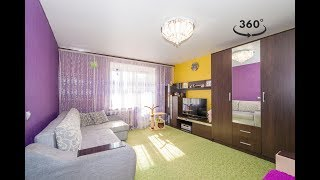 Продажа: 1 ком. кв. г. Саранск, ул. Ульянова, д. 89. Saransk | Video 4K 360°