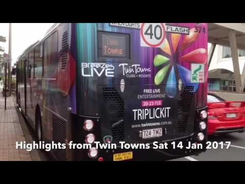 Highlights from Twin Towns Sat 14 Jan 2017