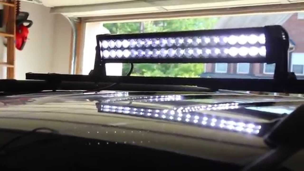 small resolution of redneck led light bar installation on 2002 jeep grand cherokee off grid nation
