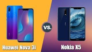 Speedtest Huawei Nova 3i vs Nokia X5: Kirin 710 vs Helio P60