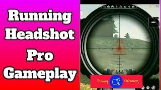 Running Headshot In Free Fire Pro Gameplay  | Pro Gameplay | Free Fire Rank gameplay