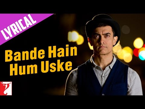Lyrical: Bande Hain Hum Uske Song with Lyrics | DHOOM:3 | Aamir khan | Kausar Munir