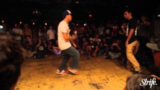 Antics vs Akuma DRUNK Exhibition Battle | STRIFE.TV | Supernaturalz Crew 21st Anniversary | Toronto