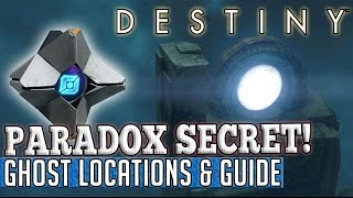 Destiny | PARADOX DAILY HEROIC SECRET! - How to get No Time To Explain Quest!