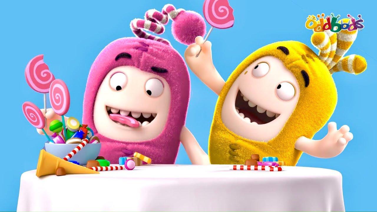 Oddbods   MỚI   Newt và Bubbles: Sức Mạnh Của Con Gái!   Phim Hoạt Hình Vui Nhộn Cho Trẻ Em