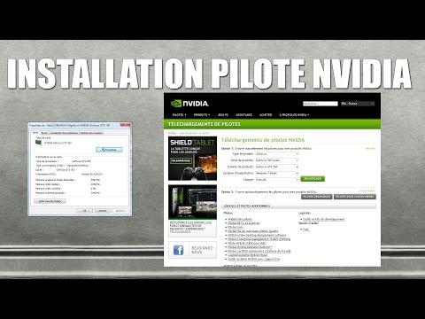 Tutoriel installation pilote nvidia ou mise à jour