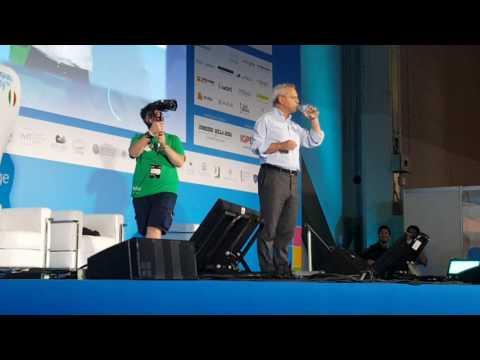 Campus Party - Milano - Enrico Mentana Domande sulle Fake News
