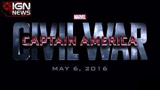 Captain America: Civil War Coming in 2016 - IGN News