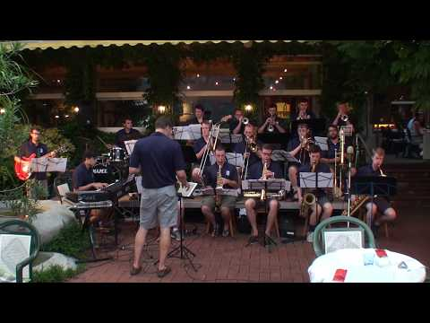 """Driftin',"" UNH Jazz Band, Brienz, Switzerland"