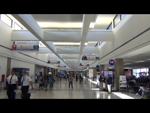 An HD Tour of LAX (Los Angeles International Airport), Terminals 4, 5, 6, 7, and 8