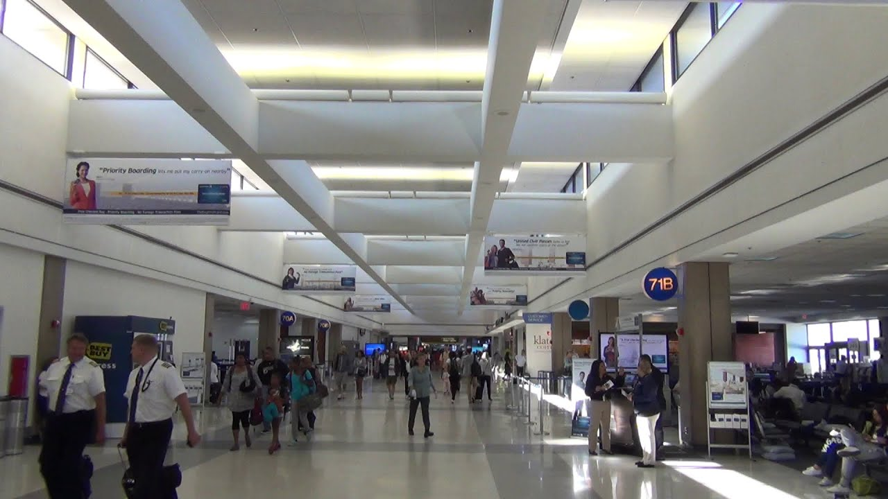 An Hd Tour Of Lax Los Angeles International Airport