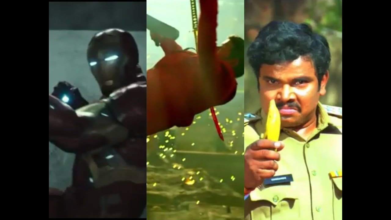 Hollywood Vs Bollywood Vs Tollywood Fight Scenes Funny Tollywood