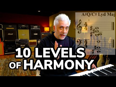 THE 10 LEVELS OF HARMONY (that you can use)