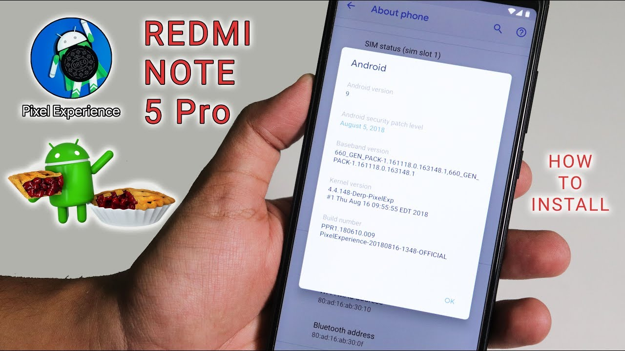 Pixel Experience🍮 Pie 9 0 ROM On Redmi Note 5 Pro || How To Install | Guide