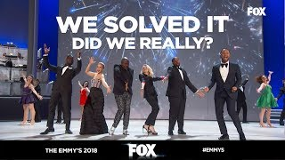 The Emmy's 2018 | OPENING SONG | John Legend, Ricky Martin and more Sing 'We Solved It'