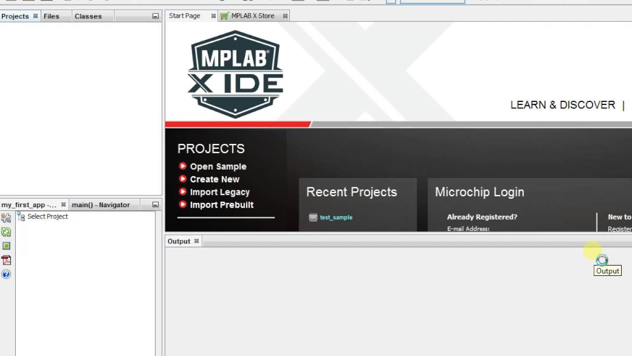 Test MPLAB X, Harmony, XC32 compiler
