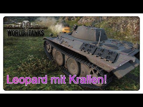 Leopard mit Krallen! [World of Tanks - Gameplay - Deutsch]